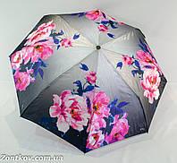 """Зонтик женский """"flower"""" полуавтомат сатин на 8 спиц анти-ветер от фирмы """"Zita"""""""