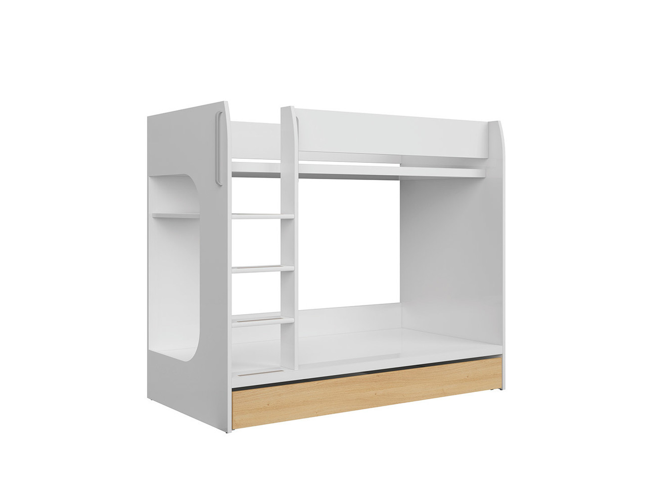 Princeton łóżko pietrowe  S406-LOZ1S/90P-BIP/DP (BRW)