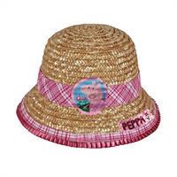 Детская соломенная шляпка Свинка Пеппа, Дисней (Disney)