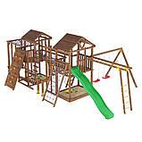 Деревянный детский спортивно-развлекательный комплекс Leaf 12, фото 2