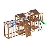 Деревянный детский спортивно-развлекательный комплекс Leaf 12, фото 3