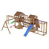 Деревянный детский спортивно-развлекательный комплекс Leaf 12, фото 4