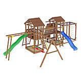 Деревянный детский спортивно-развлекательный комплекс Leaf 12, фото 6