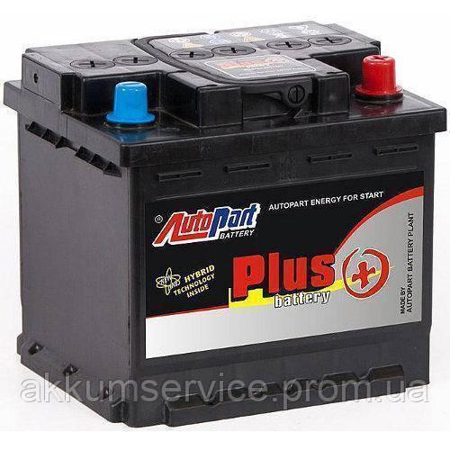Акумулятор автомобільний Autopart Plus 61AH R+ 550А