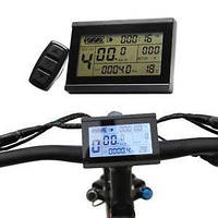 Дисплей  для электровелосипедов LCD-3, фото 1