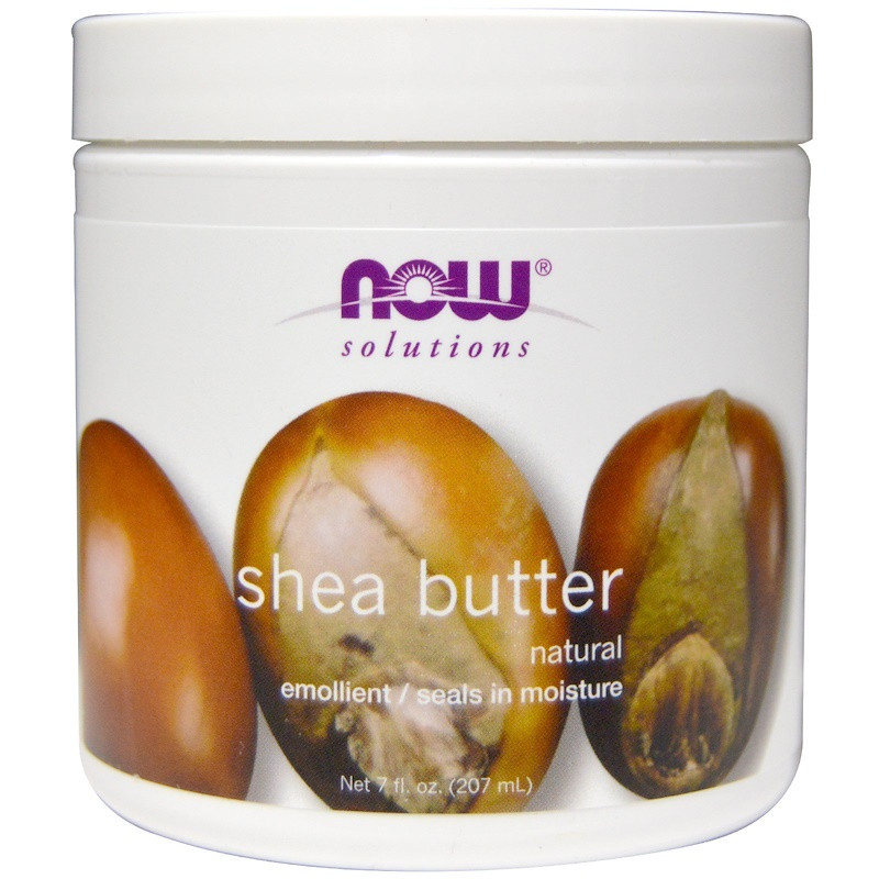 """Масло Ши NOW Foods, Solutions """"Shea Butter"""" натуральное (207 мл)"""