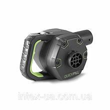 Электрический насос Intex 66642 аккумулятор , 12/220 В , 650 л/мин