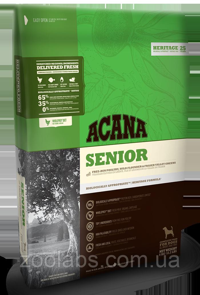Корм Acana для собак сеньйор   Acana Senior Dog 11,4 кг