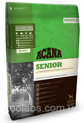 Корм Acana для собак сеньйор   Acana Senior Dog 11,4 кг, фото 2
