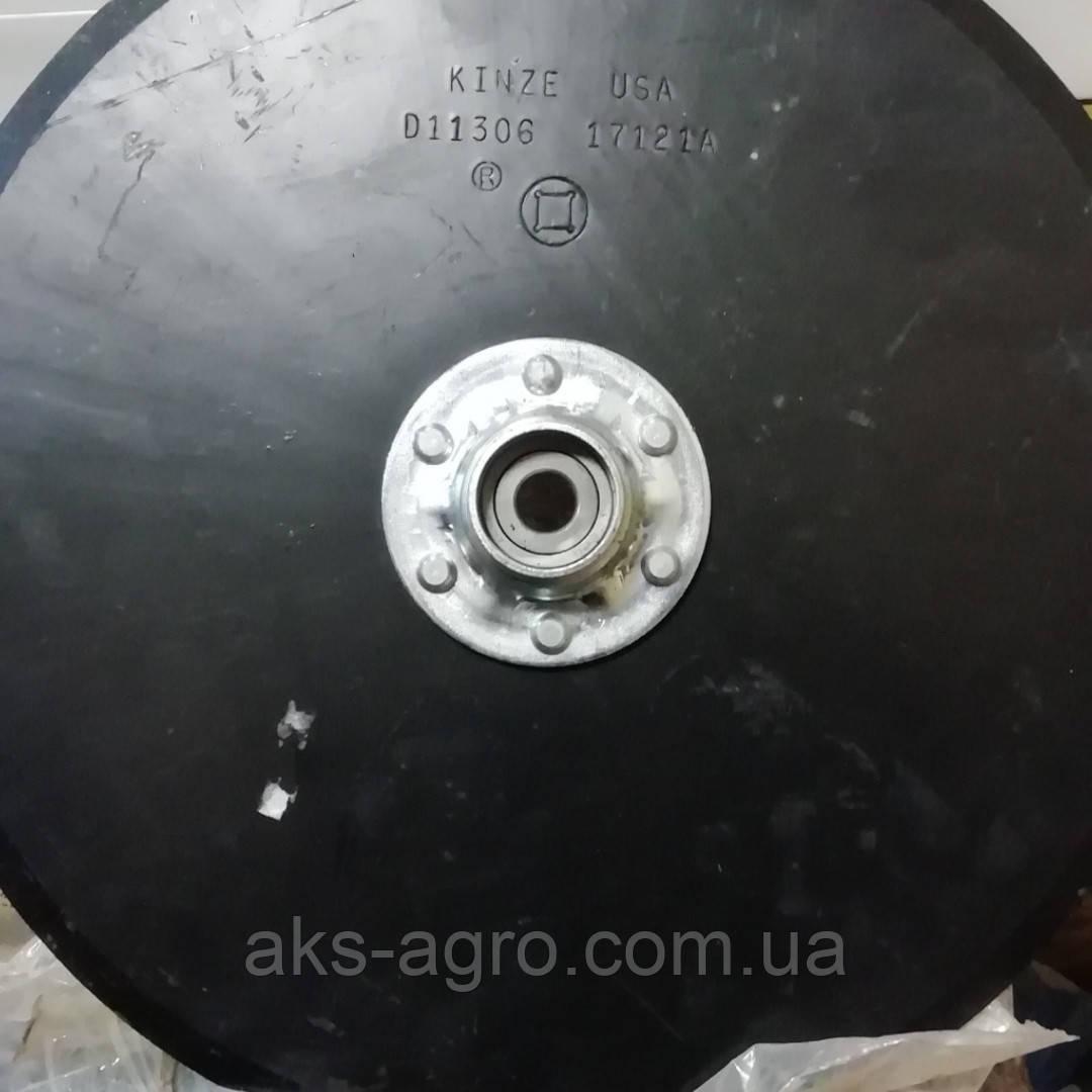 GA2013 GA8324 D11306 ДИСК СОШНІКА В ЗБОРІ KINZE