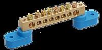 "Шина N ""ноль"" на двух угловых изол ШНИ-6х9- 8-У2-C IEK (YNN10-69-8C2-K07)"