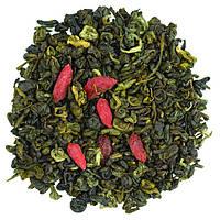 Зеленый чай с ягодами годжи и имбирем  100 г
