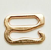 Крючок для бретелей 10 мм металл золото (50 шт/уп)