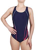 Купальник спортивный женский для плавания  Rivage Line 8637, синий