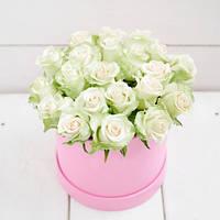 """Коробка """"35 белых роз"""""""