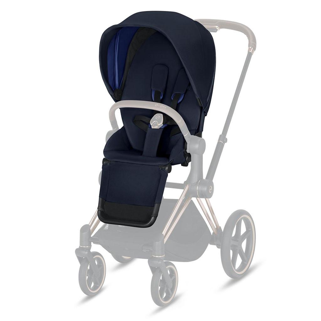Комплект ткани Cybex Priam Lux Seat Classic collection / Indigo Blue navy blue
