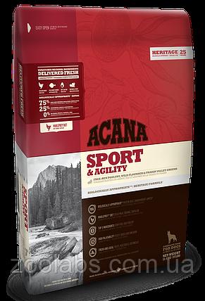 Корм Acana для активных собак | Acana Sport & Agility 11,4 кг, фото 2