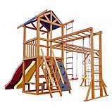 Игровой комплекс горка и качели Babyland-12, фото 3