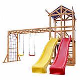 Игровой комплекс горка и качели Babyland-12, фото 2
