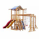 Игровой комплекс горка и качели Babyland-12, фото 8