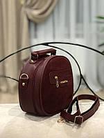 Женская сумка кросс-боди,натуральная замша и эко кожа, фото 2
