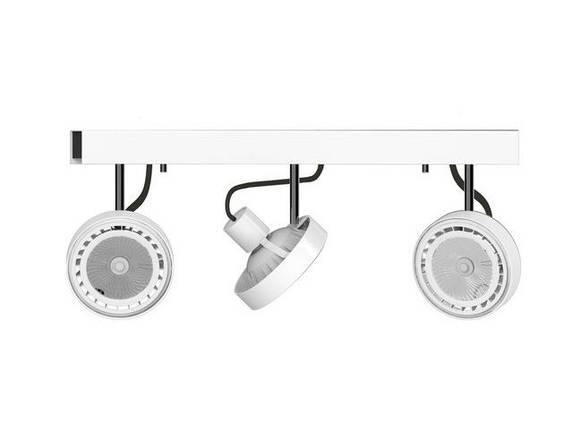 Потолочный светильник 225W NOWODVORSKI Cross White 9601 (9601), фото 2