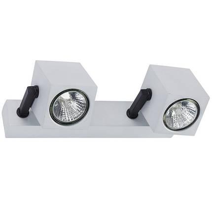 Потолочный светильник 35W NOWODVORSKI Cuboid Silver 6518 (6518), фото 2