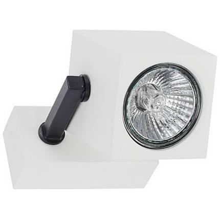 Точковий світильник 35W NOWODVORSKI Cuboid White 6522 (6522), фото 2