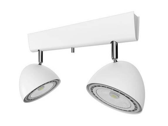 Потолочный светильник 150W NOWODVORSKI Vespa White 9593 (9593), фото 2