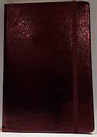 Блокнот А5, 130*190 мм, 144 листа, клетка, на резинке, Wilhelm Büro, WB-5733, 5157337