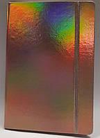 Блокнот А5, 130*190 мм, 144 листа, клетка, на резинке, Wilhelm Büro, WB-5737, 5157375