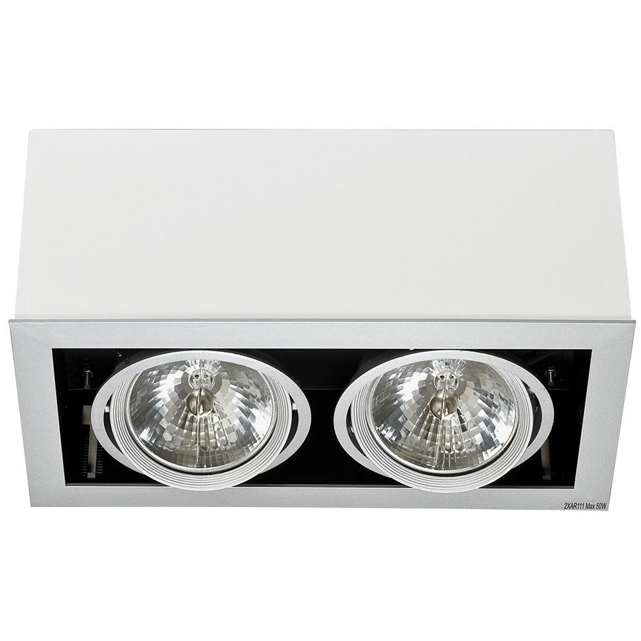 Точковий світильник NOWODVORSKI Box White Gray 5306 (5306)