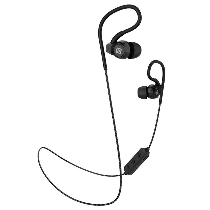 Стерео Bluetooth-гарнитура Langsdom BS80 чёрная, спорт