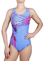 Купальник спортивный женский для плавания  Rivage Line 8680, синий