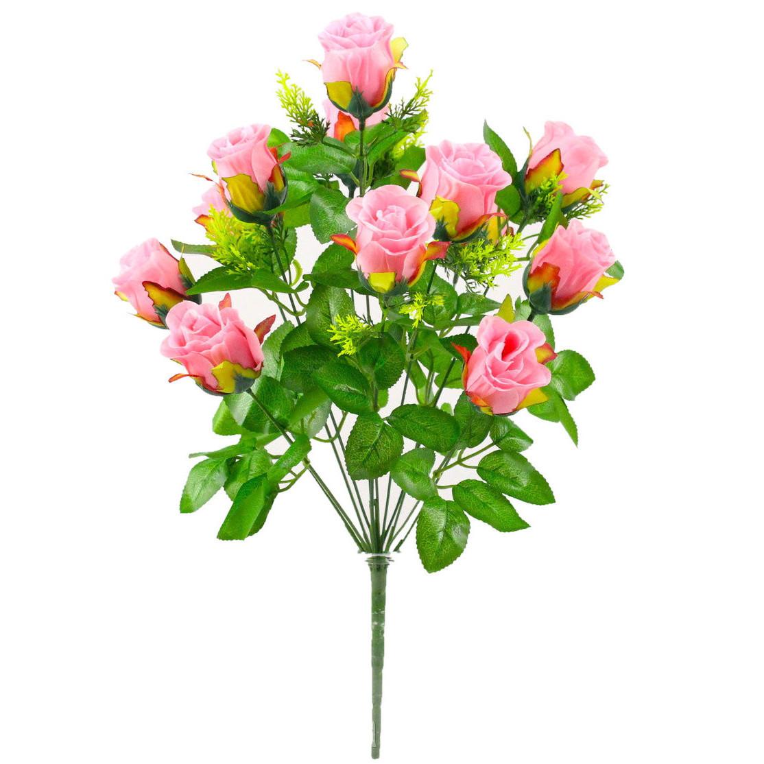 Роза бутон, 52см (10 шт. в уп)