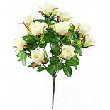 Роза бутон, 52см (10 шт. в уп), фото 4