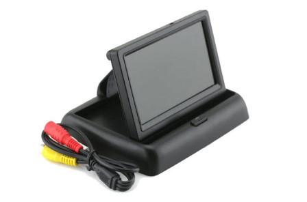 Монитор для камеры заднего вида 4,3 складной Terra LCD Color 4.3