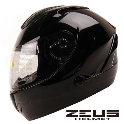 Мотошлем Zeus ZS-806F Черный глянец, фото 1