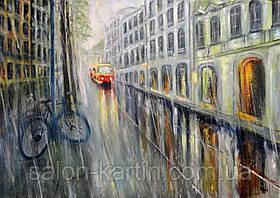 """Картина """"Дождливый день"""""""