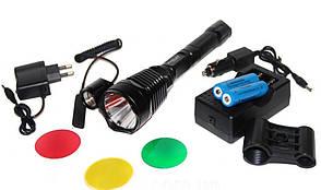 Подствольный фонарь Bailong BL-Q2800-T6 50000W. Металлический корпус. 6800 mAh. Качество. Код: КТМТ159
