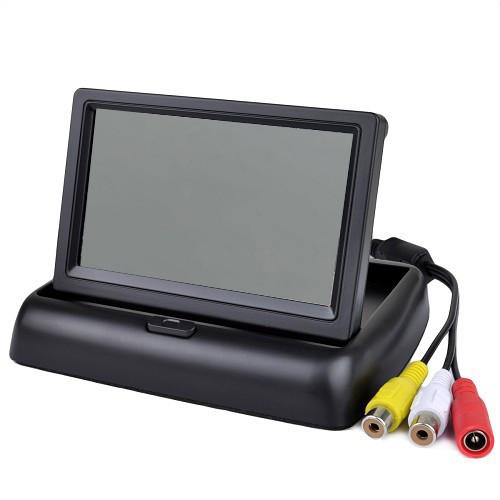 """Монітор для камера заднього виду екран 5"""" монітор в машину складаний"""