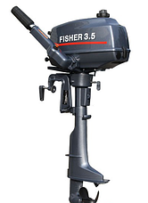 Човновий мотор Fisher T3.5BMS, фото 2