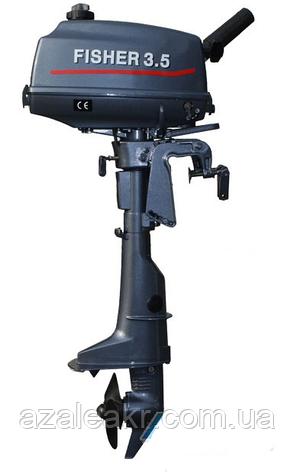 Лодочный мотор Fisher T3.5BMS, фото 2