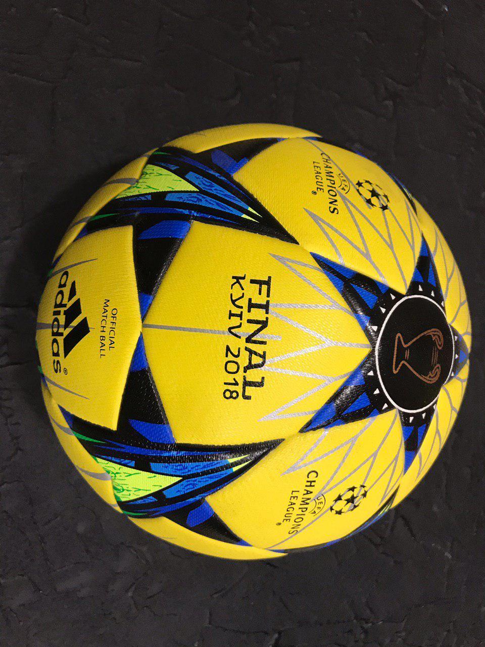 Футбольный мяч Лига чемпионов желтый
