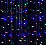Светодиодная гирлянда Штора RGB 3х3м  300led, фото 2