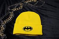 Шапка с вышивкой Batman / Шапка Бэтмен
