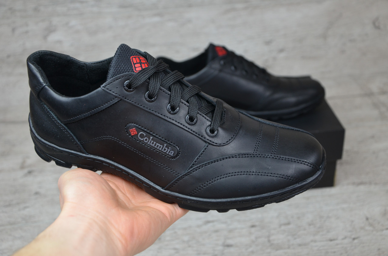 5554a1b56534b5 ... Мужские кожаные кроссовки Columbia (Реплика) (Код: Columbia 01 ) ▻ [40  ...