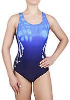 Купальник спортивный женский для плавания  Arena 8633, синий