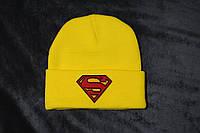 Шапка с вышивкой Superman / Шапка Супермен