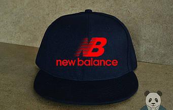 Снепбек New Balance синего цвета (люкс копия)